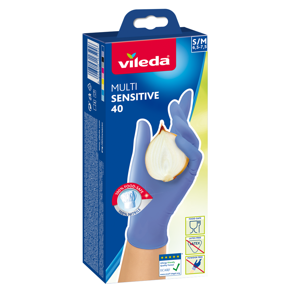 Luvas de Nitrilo Multisensitive